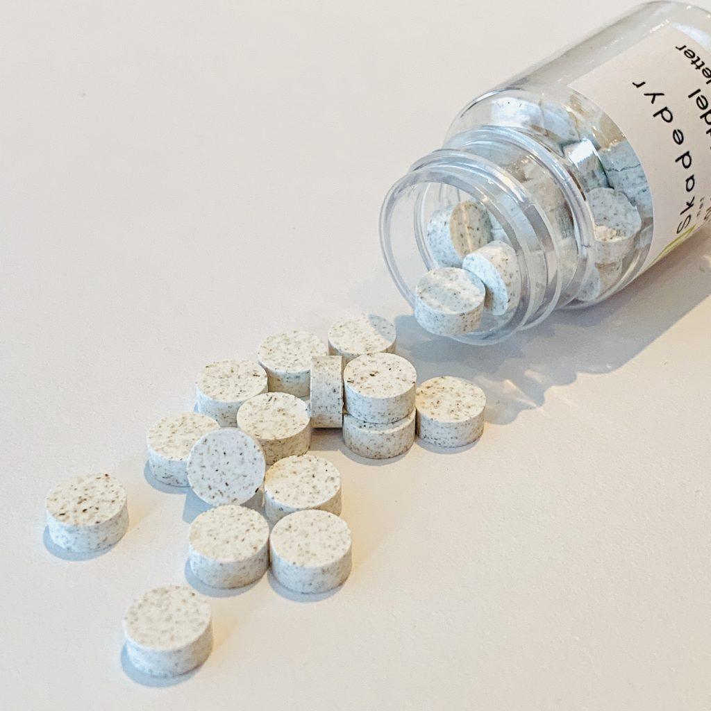 skjeggkre lokkemiddel tabletter